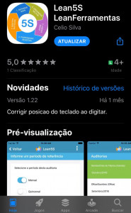 APP Store - software Lean5S