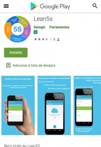 Google Play - software Lean5S